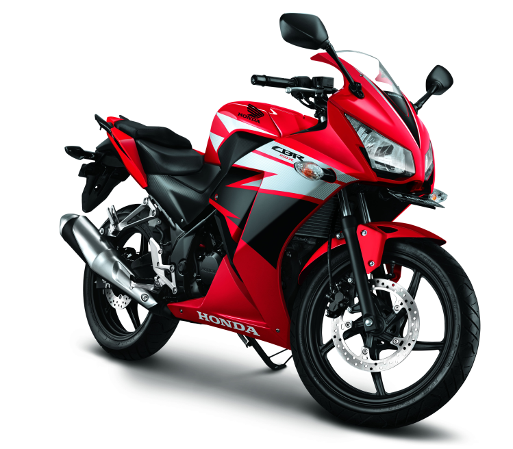 All New CBR150R – Champion Red