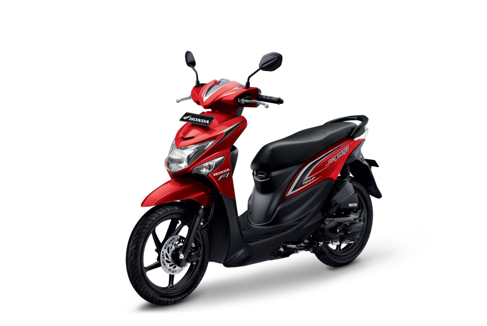 All New Honda BeAT POP eSP CBS – Groovy Red