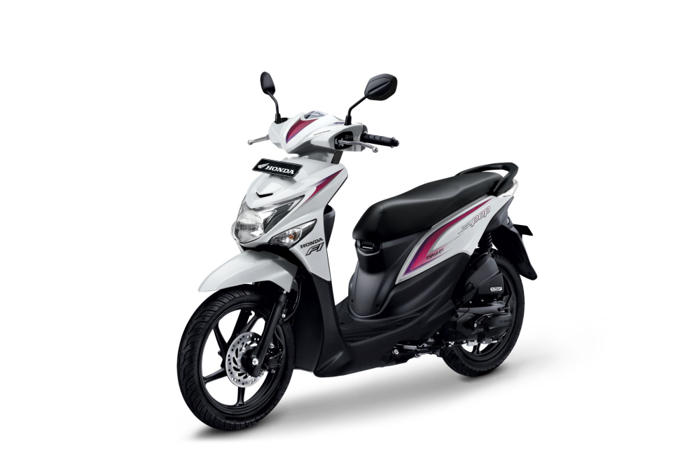 All New Honda BeAT POP eSP CBS ISS – Harmony White