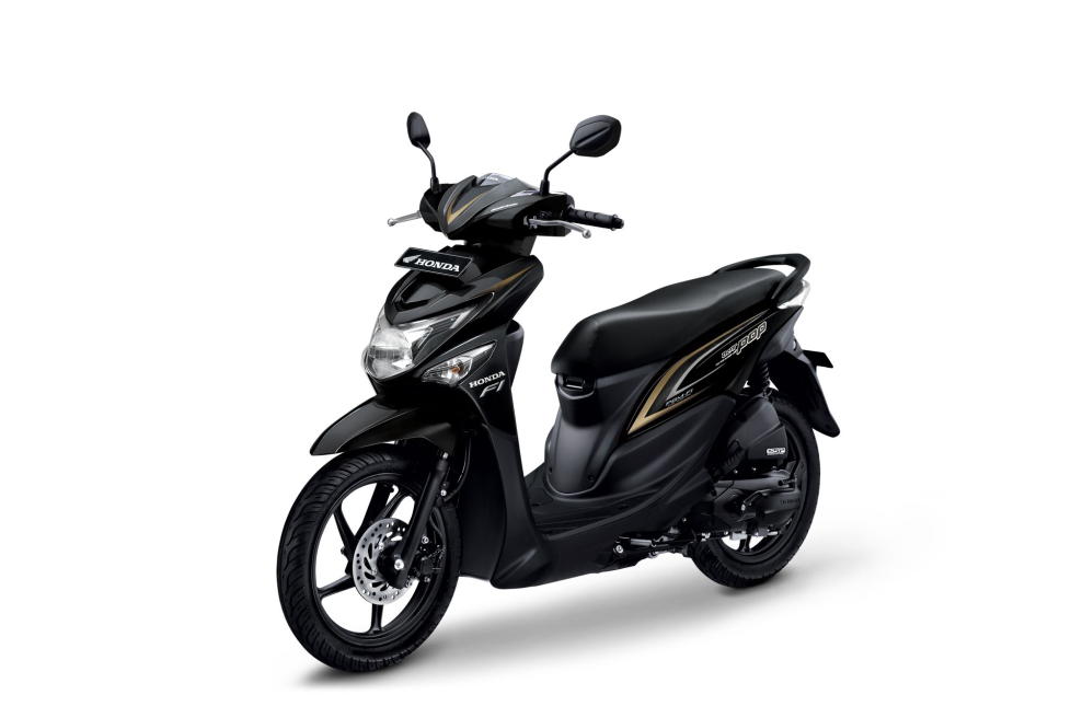 All New Honda BeAT POP eSP CBS – Tone Black