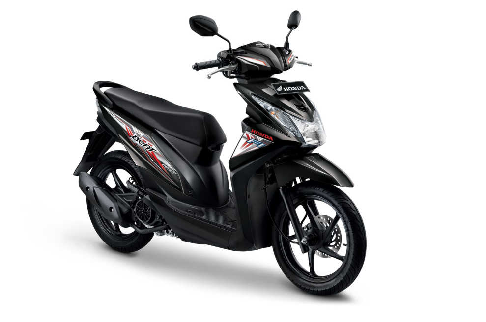 All New Honda BeAT eSP CBS – Hard Rock Black