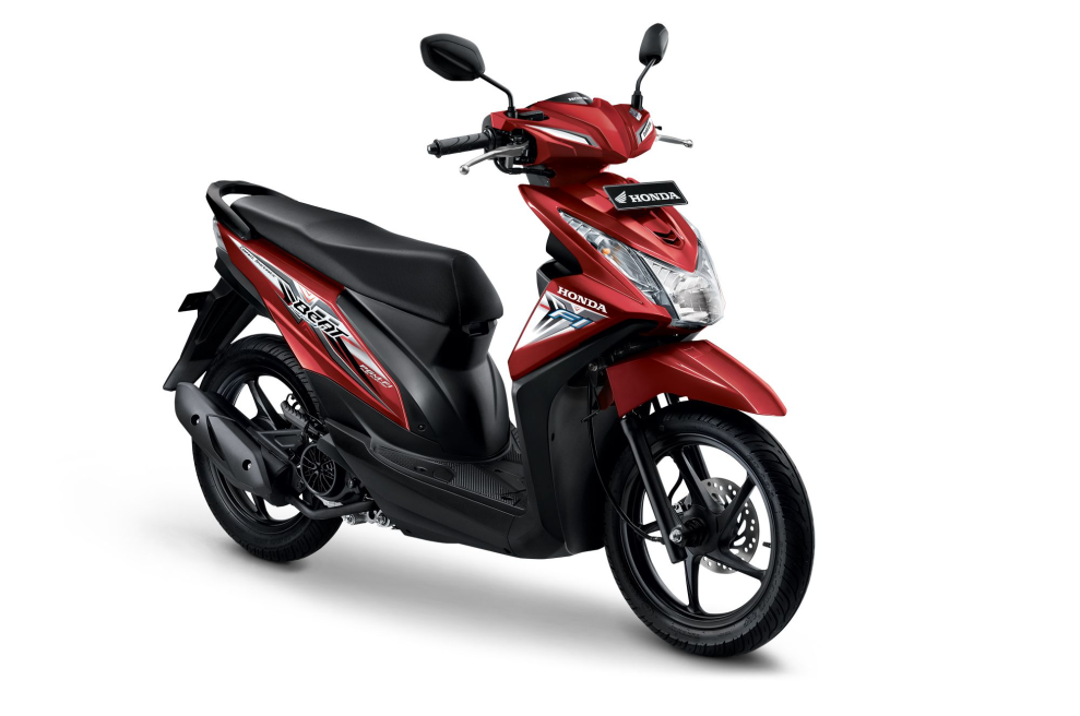 All New Honda BeAT eSP CBS ISS – Electro Red