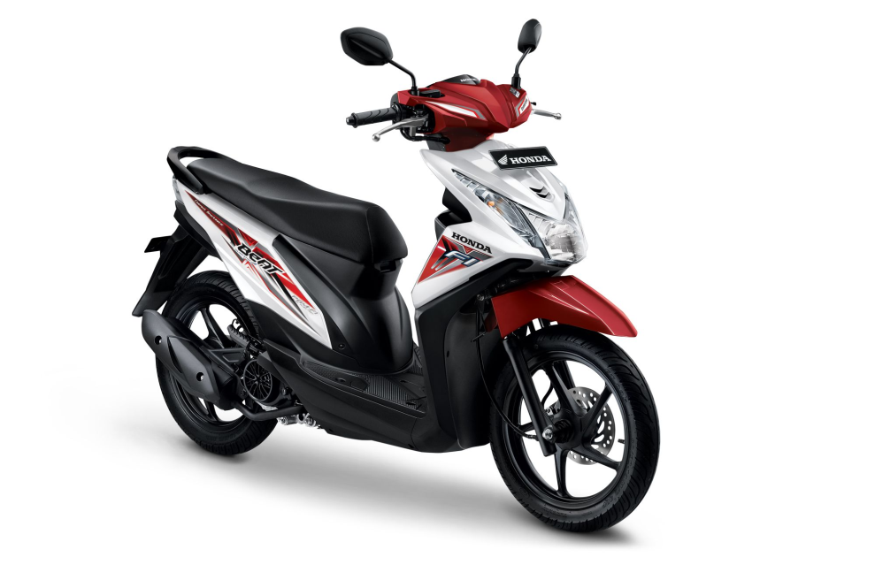All New Honda BeAT eSP CBS ISS – Techno White