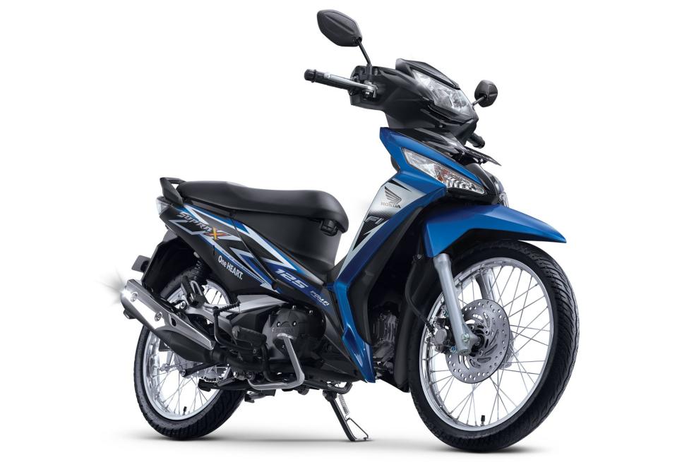 New Supra X 125 FI SW – Fabulous Blue