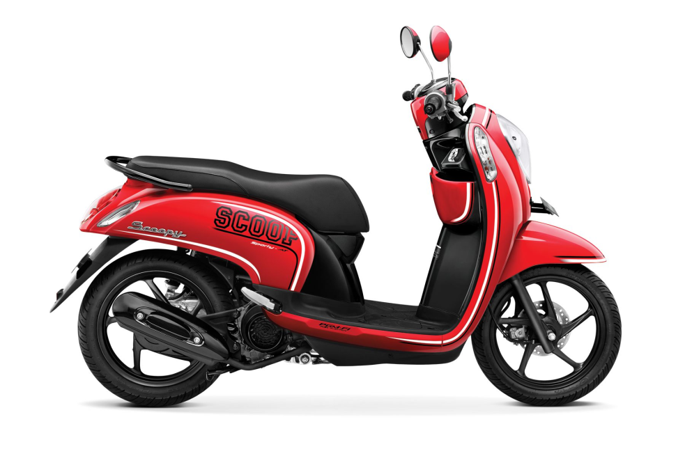 Scoopy FI Sporty – Estate Red