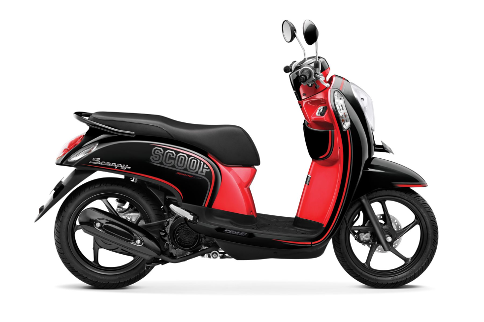 Scoopy FI Sporty – Metro Black