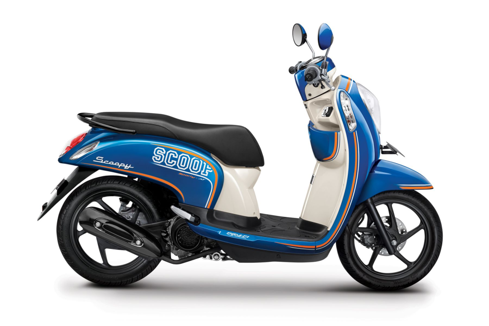Scoopy FI Sporty – Urban Blue