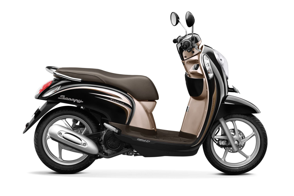 Scoopy FI Stylish – Fancy Black