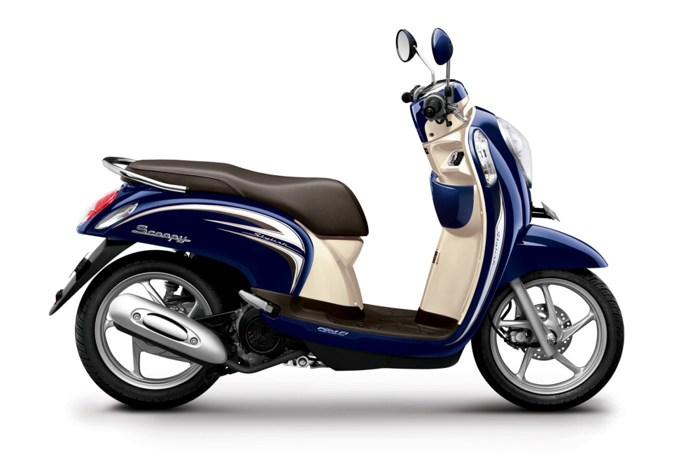 Scoopy FI Stylish – Uptown Blue