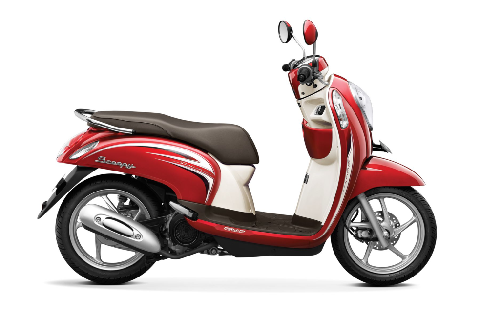 Scoopy FI Stylish – Vogue Red