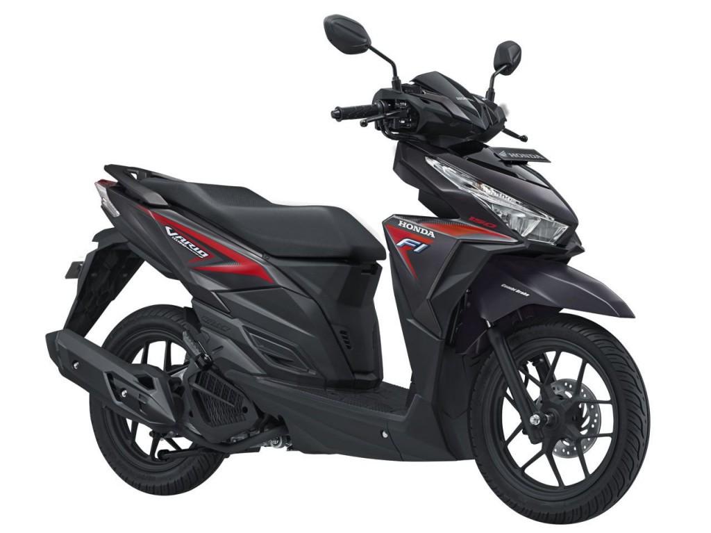 Vario 150 eSP Sporty – Titanium Black