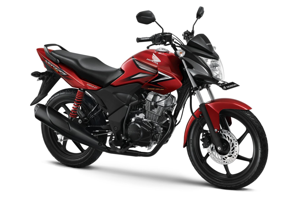 Verza 150 CW – Sporty Red